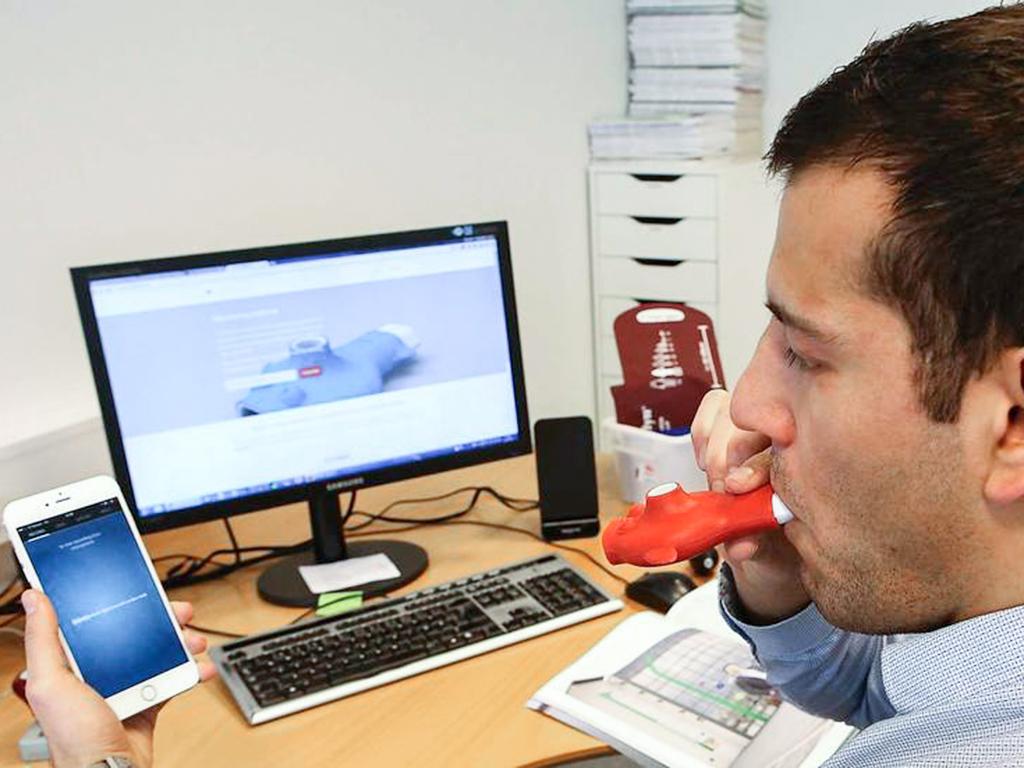 Astma Fløjte Damoun