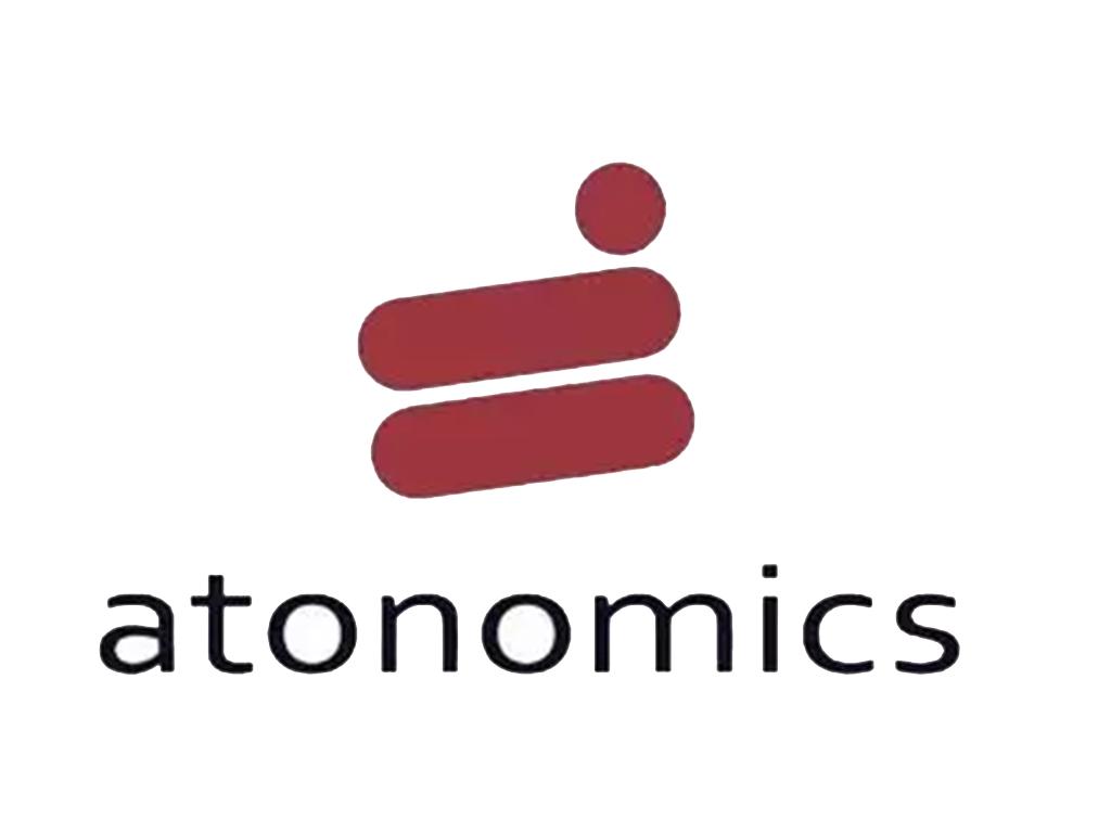 Atonomics logo PNG